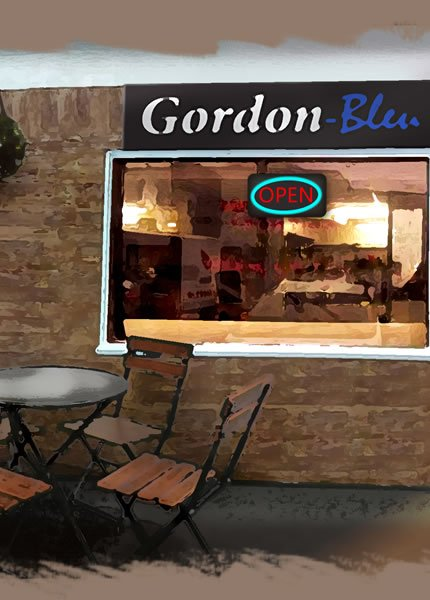 Gordon-Bleu takeaway food Stratford upon Avon